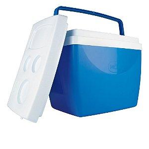 Cooler Caixa Térmica Mor 34 Litros Azul