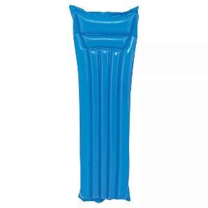 Colchão Inflável para Água Summer 183X69cm MOR - Azul