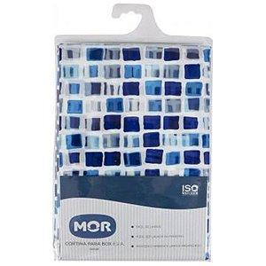 Cortina Box em EVA Azul MOR