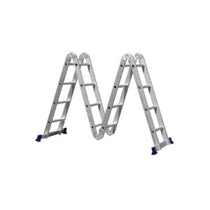Escada Alumínio Multifuncional 4X4 16 Degraus