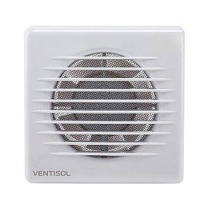 Exaustor para Banheiro Silencioso Microventilador Residencial Branco 220v