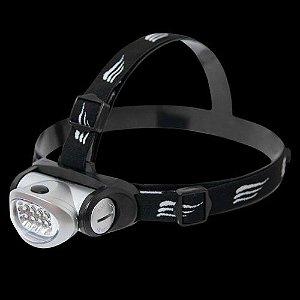 Lanterna De Cabeça Com Ajuste Led Turbo Angular Nautika 8 Leds 20 Lumens
