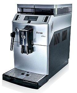 Cafeteira Expresso Italiana Maquina de Cafe Expresso Automatica 127v Philips Lirika Saeco