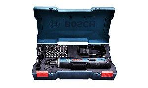 Parafusadeira a Bateria 3,6V BOSCH GO Versão Kit Na Maleta