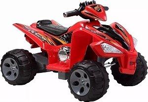 Quadriciclo Elétrico Infantil 12v Vermelho