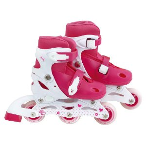 Roller Infantil Rosa MOR ROW Tamanho-P Numeração 30-33