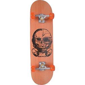 Skate Iniciante MOR Row 79X20cm - Caveira