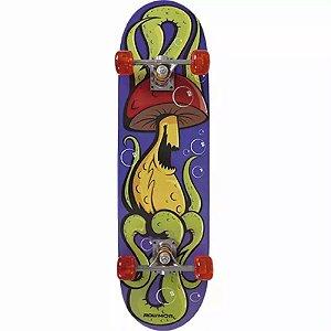 Skate Iniciante MOR Row 79x20cm Cogumelo