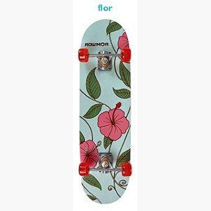 Skate Iniciante MOR Row 79x20cm - Flor