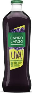 Suco Uva Tinto Integral 1,5 Litros Vidro