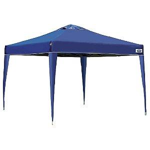 Tenda Gazebo Sanfonada 3x3 Azul - MOR