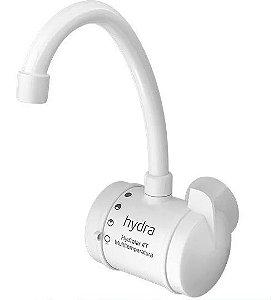 Torneira Multitemperatura Hydralar 4t 5500W Parede Branca 220V