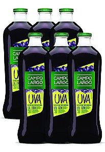 Suco De Uva Bordo Integral 1,5 Vidro Com 6 Garrafas