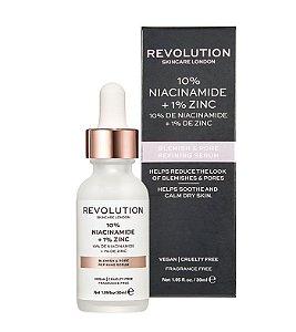 Sérum redutor de Poros - 10% Niacinamide + 1% Zinc revolution