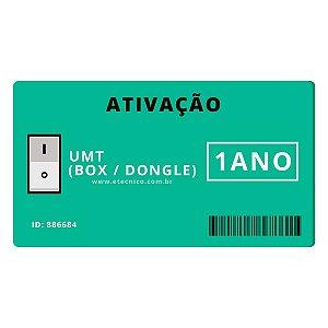 Ativação UMT BOX Dongle 1 Ano