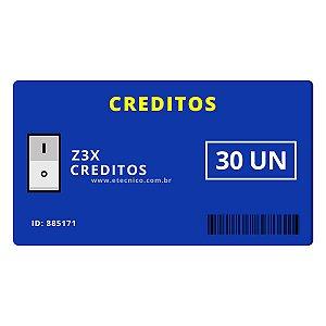 Créditos Z3X 30 UN