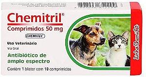 Antibiótico Chemitril 50 mg