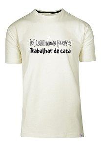 Camiseta Blusinha Para Trabalhar De Casa