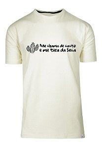Camiseta Me Chama De Cacto E Me Tira Da Seca