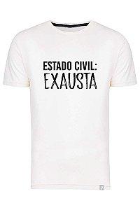 Camiseta Estado Civil Exausta