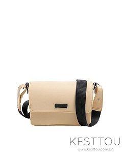 Bolsa Tiracolo Kesttou BK038 Areia - Unidade