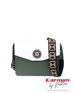 Bolsa Tiracolo Carmim by Kesttou BK041 Jaspe - Unidade