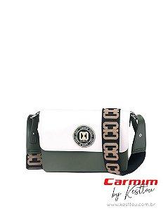 Bolsa Tiracolo Carmim by Kesttou BK043 Jaspe - Unidade