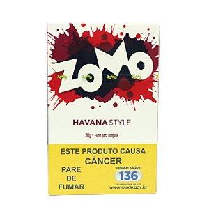 Essencia Narguile Zomo Havana Style 50g - Unidade