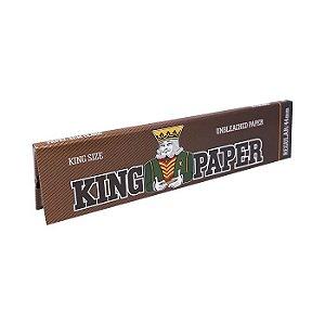 Seda King Paper Brown King Size - Unidade