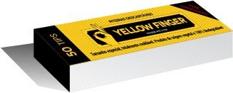 Piteira Yellow Finger Original 15mm - Unidade
