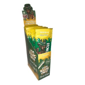 Seda Blunt Lion Rolling Circus Tequila - Display