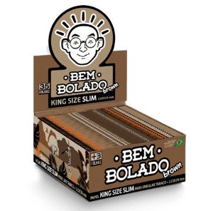 Seda Bem Bolado Brown Slim King Size - Display