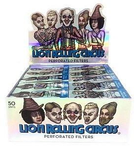 Piteira Lion Rolling Circus Silver 20mm - Display