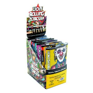 Tabaco Lion Rolling Circus 30g - Display