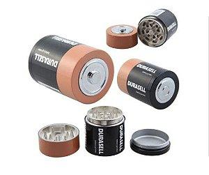 Dichavador Metal Pilha Duracell 3 Partes - Unidade