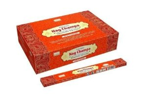 Incenso Nag Champa Darshan Massala (1000 Flowers) - Display