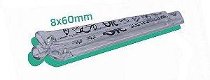 Piteira Vidro ORC Simples 8mm x 6cm - Unidade
