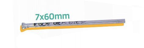Piteira Vidro ORC Simples 7mm x 6cm - Unidade