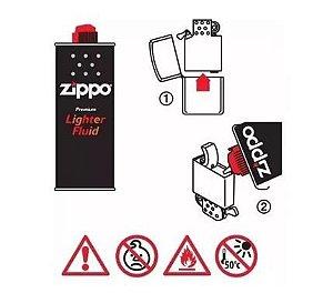 Fluído para Isqueiro Zippo 125ml - Unidade