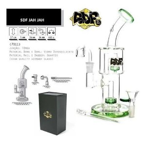 Bong Vidro Squadafum Premium Jah Jah 7011 - Unidade
