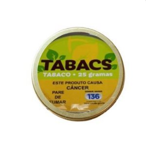 Tabaco Tabacs 25g - Unidade
