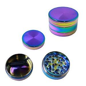 Dichavador Metal Multicolor 3 Partes - Unidade