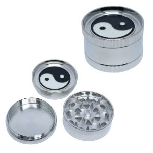 Dichavador Metal Médio Yin Yang 3 Partes - Unidade