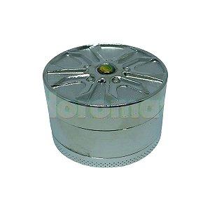 Dichavador Metal Grande Aro 20 Cromado 3 Partes - Unidade