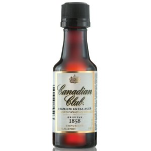 Whisky Canadian Miniatura 50ml - Unidade