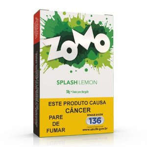 Essencia Narguile Zomo Splash Lemon 50g - Unidade