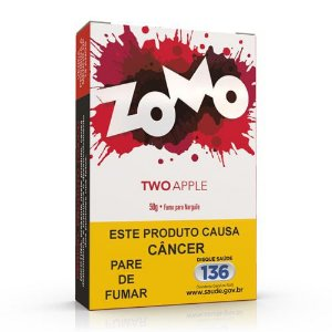 Essencia Narguile Zomo Two Apple 50g - Unidade
