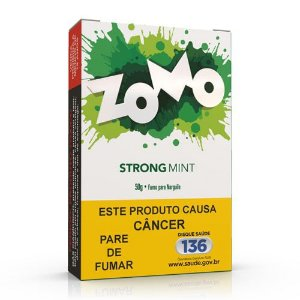 Essencia Narguile Zomo Strong Mint 50g  - Unidade