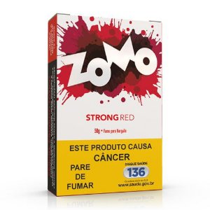 Essencia Narguile Zomo Strong Red 50g - Unidade