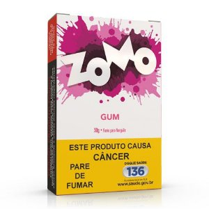 Essencia Narguile Zomo Gum 50g - Unidade